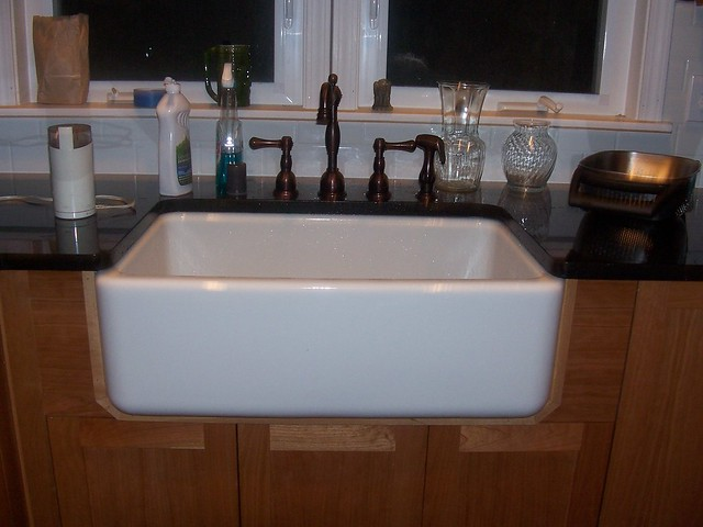 Installing A Farmhouse Apron Front Sink : How To Guide For Installing An Apron Front Farm Sink Auto Design ...