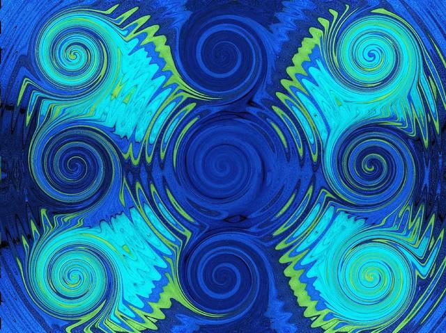 Nine spirals