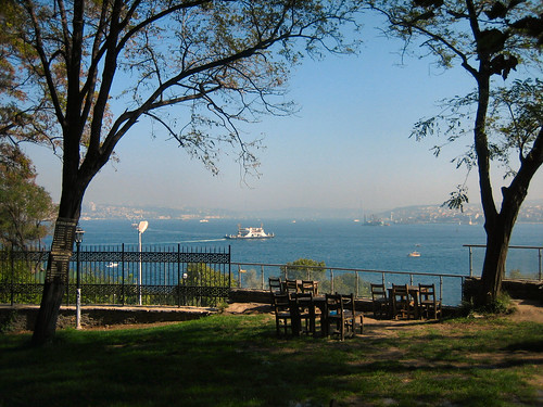 View from the Garden of Topkapi Saray