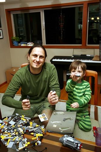 nick and sean, star wars lego engineers    MG 5555