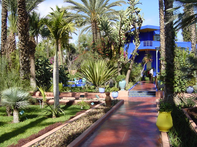 Marrakech le jardin majorelle flickr photo sharing for Le jardin marrakech