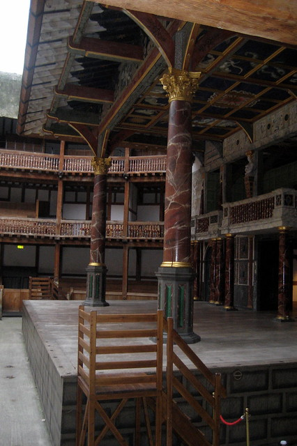 UK - London - Bankside - Shakespeare's Globe - Theatre's ...
