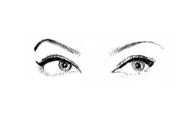Aishwarya's Eyes - Pencil Sketch