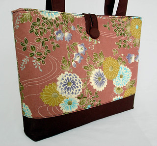 Handbag-Drifting Chrysanthemums