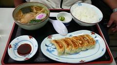 餃子中華麵套餐