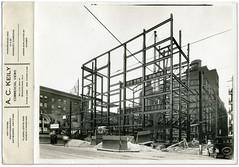 Construction of Alabama Theatre