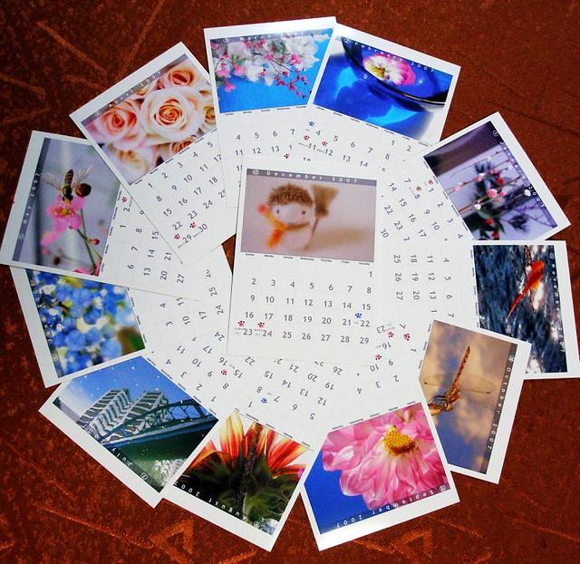 Travel Calendar by flickr user tanakawho