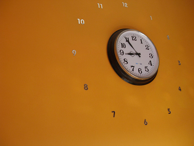 clock and numbers