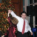 27 Sean and Amy dancing