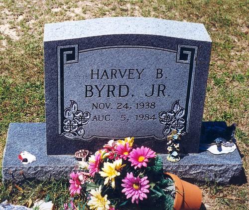 Grave of Harvey B. Byrd, Jr.