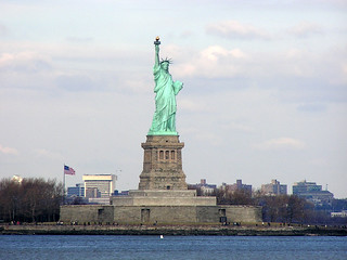 Statue of Liberty - New York City - New York - 19 December 2003
