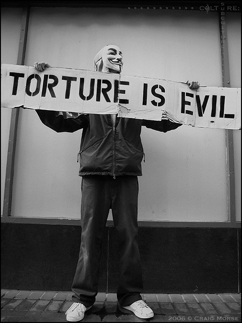 is torture a necessary evil 14th september 2013 torture is a necessary evil after reading this article and evaluating both sides of the argument, my opinion remains the same i disagree that torture is necessary it is a barbaric breach of human rights.