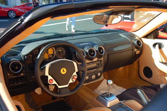 Ferrari Superamerica Interior