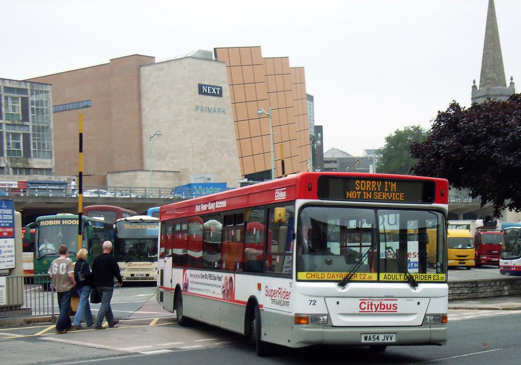 Plymouth Citybus 072 WA54JVV