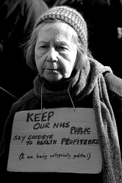 Save Our NHS Demonstration