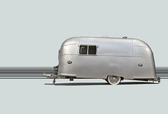 Airstream Trailer Caravanning