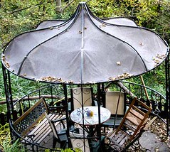 outdoor structure, gazebo,