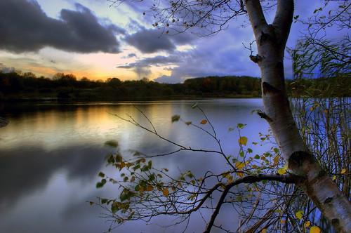 sunset lake water wales geotagged cardiff explore 100 penarth hdr cosmeston stevecastle twtmeblogged geo:lat=51414123 geo:lon=3186615