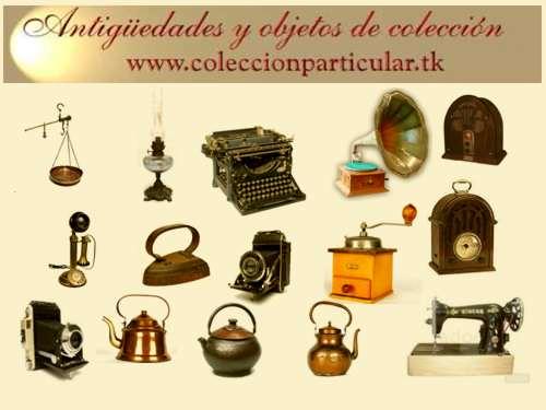 Antiguedades y objetos de colecci n www for Compra de objetos antiguos