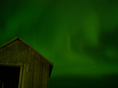 Sky Green Green Night Sky | by