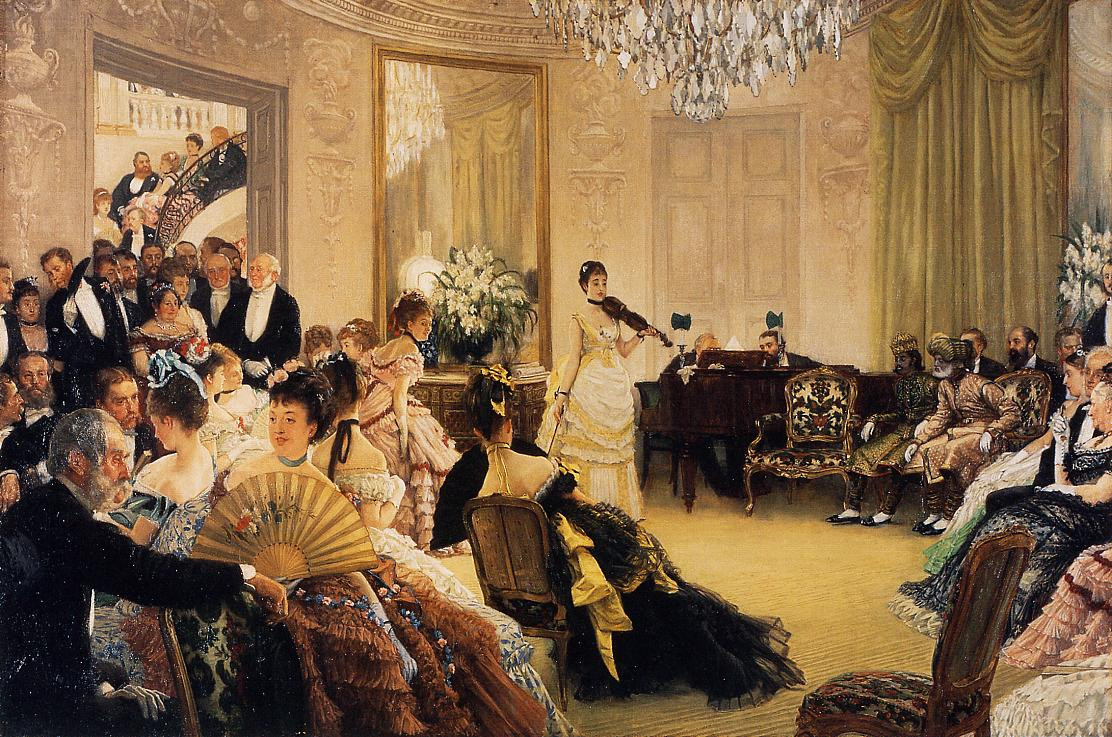 Hush! by James Tissot