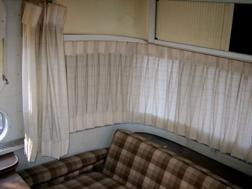 Airstream Curtains Upholstery Flickr Photo Sharing