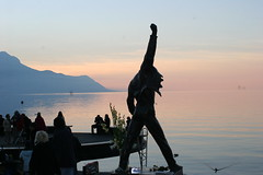 Lac Leman sunset