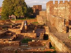 Pesquisa arqueológica no castelo de Silves
