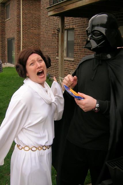 Princess Leah And Darth Vader Flickr Photo Sharing