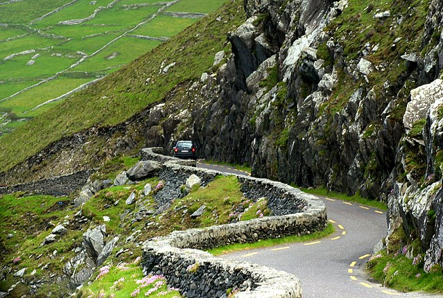 Narrow Road - Dingle Peninsula - Ireland