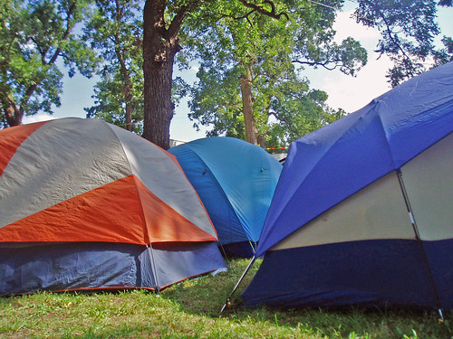 Camping and tents for utah group packages