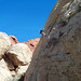 Rappelling, Red Rock Canyon by levork
