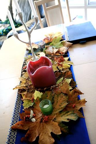 Realizzare un centrotavola perfetto per l'autunno