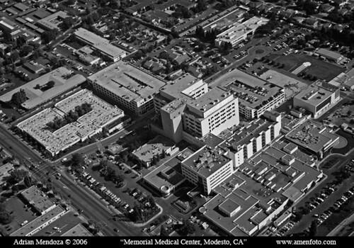 Aerial Photo Of Memorial Medical Center Modesto Flickr
