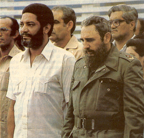 Former Grenada Prime Minister Maurice Bishop With President Fidel Castro in Cuba by panafnewswire