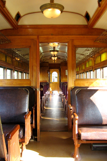 restored rail car interior flickr photo sharing. Black Bedroom Furniture Sets. Home Design Ideas