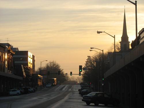 como streets church sunrise town midwest columbia missouri mizzou