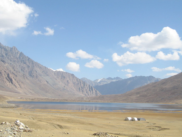 Shandur Pass, 12,200 feet, looking east