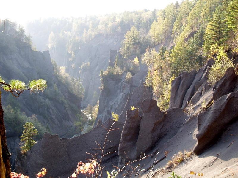 Mountains: Great Canyon, Changbaishan