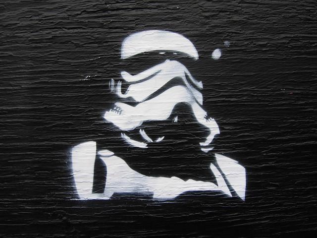 Stormtrooper Stencil Cake Ideas And Designs