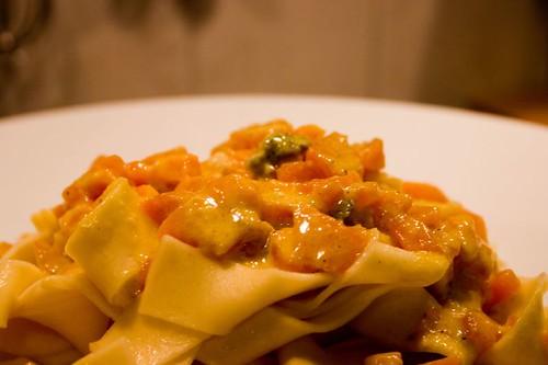 Pasta Pumpkin & Gorgonzola