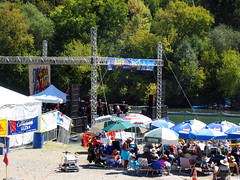 The Jazz Festival is an annual event on Johnson's Beach.