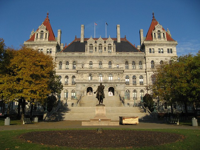 New York State Capitol  This Would Be A Better Shot Without  Flickr  Phot