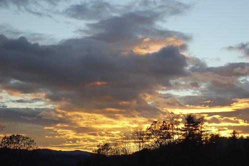sunset sky orange sun geotagged nc northcarolina wilkesboro p2wy