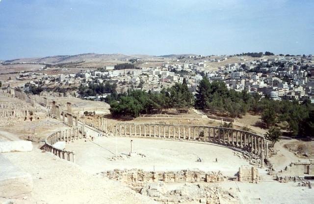 Forum Jerash Jordan