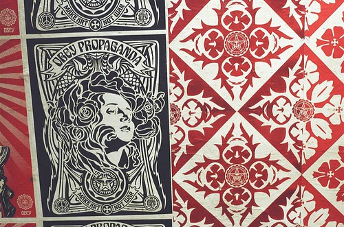 SHEPHERD FAIREY: PATTERN
