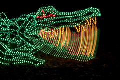 ZooLights: Crocodile
