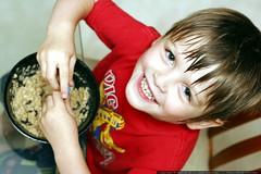 poster child for homemade oatmeal   oats, raisins, h…