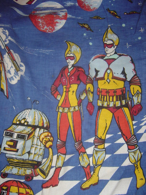 Photo for Vintage space fabric