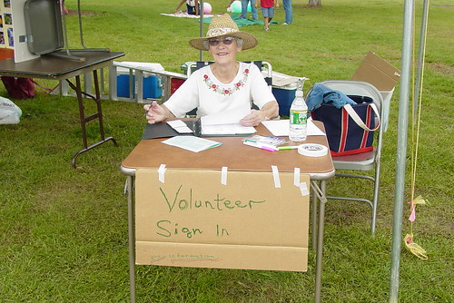 volunteer sign in